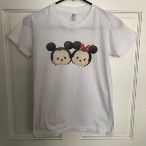 American Apparel Disney Mickey/Minnie Custom Tee